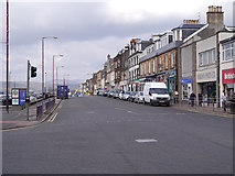 NS2982 : West Clyde Street, Helensburgh by David Dixon