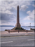 NS2982 : Henry Bell Monument, West Clyde Street by David Dixon