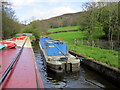 SJ2441 : The British Waterways Barge Emral by Ian S