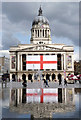 SK5739 : St George's Day in Nottingham by Alan Murray-Rust