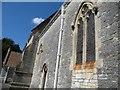 ST4636 : Headstops on the church by Bill Nicholls
