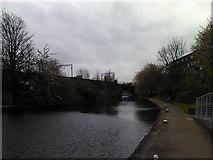 TQ3681 : Railway bridge over the Regent's Canal #3 by Robert Lamb