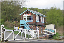 SE7365 : Level crossing, Kirkham by Pauline E