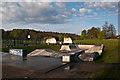 TQ2550 : Skate park, Priory Park by Ian Capper