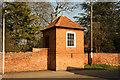 SK7890 : Hall gazebo by Richard Croft
