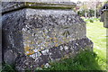 SU3888 : Benchmark on buttress of St Nicholas' Church by Roger Templeman