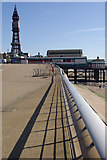 SD3036 : North Pier and Blackpool Tower by Stephen McKay