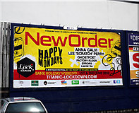 J3271 : Advertisement, Belfast by Rossographer