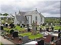 H2694 : Graveyard, Castelfin by Kenneth  Allen