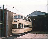 SK3454 : Sheffield's last tram by Graham Hogg