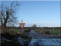 SP9113 : Cemetery Corner on the Lower Icknield Way, near Tring by Chris Reynolds