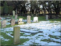 SP9113 : Cold Comfort at Wilstone Cemetery by Chris Reynolds