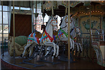 SD3036 : Merry-go-round - North Pier, Blackpool  by Stephen McKay