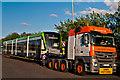 TQ4254 : New tram for Croydon by Ian Capper