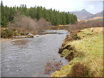 NM8363 : Strontian River, Ariundle by Peter Bond