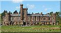 NM4099 : Kinloch Castle by Anne Burgess