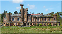 NM4099 : Kinloch Castle by Anne Burgess
