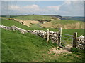 SY6984 : Combe Valley Road and Green Hill by Philip Halling