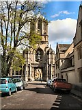 SP5105 : Entrance to Christ Church, Oxford by Paul Gillett