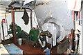 SO8218 : Gloucester Waterways Museum - SND No. 4 dredger, boiler by Chris Allen