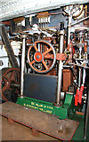 SO8218 : Gloucester Waterways Museum - SND No. 4 dredger, steam engine by Chris Allen