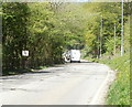SO2606 : 40 mph speed limit on southern approach to  Keepers Cottage Centre by Jaggery