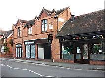 SP2871 : Tha Kitchen and former premises of Elf Stationery, Station Road, Kenilworth by John Brightley