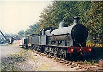 SJ6903 : Blists Hill museum: goods train by Stephen Craven
