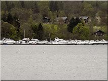 NS3882 : Loch Lomond Marina by David Dixon