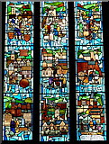 SK3871 : 750th anniversary window, Chesterfield church by Andrew Hill