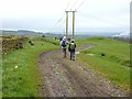 NY9368 : Bridleway from Fallowfield to Salmonswell by Oliver Dixon