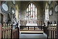 SK6813 : Chancel, St Luke's church, Gaddesby by J.Hannan-Briggs