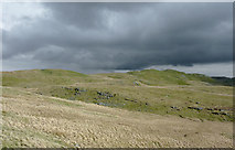 SN7767 : Storm clouds over Graig Ty-crin, Ceredigion by Roger  Kidd