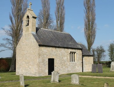 TF0537 : St Andrew's church, Scott Willoughby by J.Hannan-Briggs
