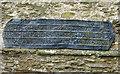 SX4358 : Lead plaque, St Nicholas & St Faith, Saltash by Rob Farrow