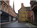 SP3378 : The old and the new,  Hay lane by Anthony Vosper