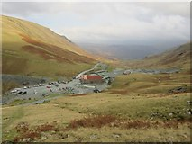 NY2213 : Honister Slate Mine Buildings by Graham Robson