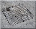 J4981 : Manhole cover, Bangor by Rossographer