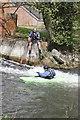 SU4767 : Into the stream by Bill Nicholls