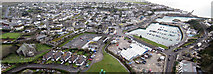 SW6225 : Porthleven aerial view by Pennylane Photography