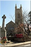 TM3389 : St. Mary's, Bungay and war memorial by nick macneill
