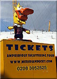 TQ3979 : Meridian Duck Tours, O2 Arena by Christine Westerback