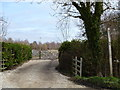 SP1346 : Path leaves road by Michael Dibb