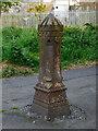 J5081 : Bollard, Bangor by Rossographer