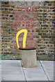 TQ3684 : Chair in pathway by John Salmon