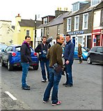 NX4355 : Countryfile in Wigtown - 4 by Andy Farrington