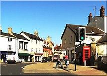 TM3389 : St. Mary's Street, Bungay by nick macneill