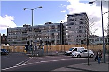 SU1584 : Former Swindon College, Regents Circus, Swindon 30.04.12 by Brian Robert Marshall
