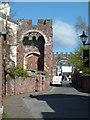 SX9292 : Rougemont Castle, Exeter by Chris Allen
