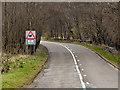 NS5678 : Milngavie Road (A81) by David Dixon